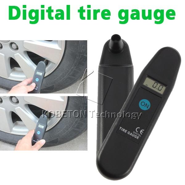 2015 Digital Auto Wheel Tire Air Pressure Gauge Meter Test Tyre Tester Vehicle Motorcycle 5-150 PSI , KPA/BAR/KG/CM2 LCD Display(China (Mainland))