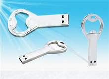 Hot selling beer bottle opener USB 2.0 flash memory stick pen drive 4GB 8GB16GB 32GB Real capacity S119(China (Mainland))