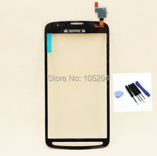 Grey Color FOR Samsung Galaxy S4 Active i9295 touch screen digitizer glass pannel + free Tools