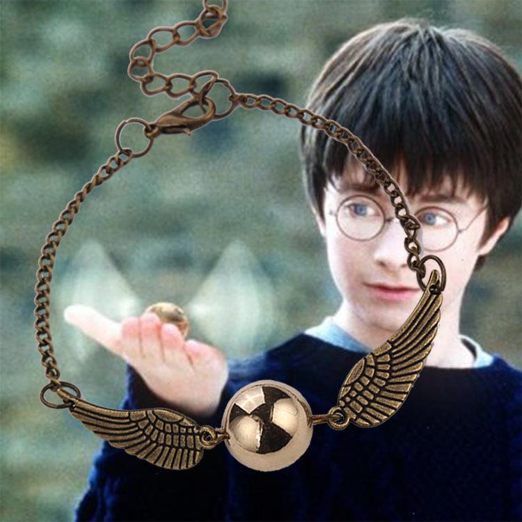 Гаджет  The New Movie Harry Potter And Snitch Bracelet Jewelry Vintage Jewelry Silver Girl Gift Free Shipping Wholesale None Ювелирные изделия и часы