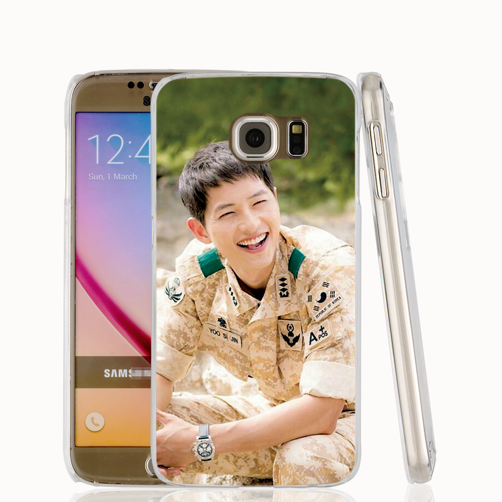 15677 Descendants of the sun cell phone protective case cover for Samsung Galaxy A3 A5 A7 A8 A9 2016(China (Mainland))