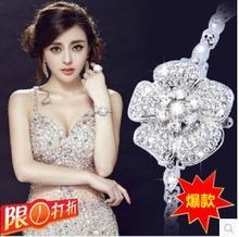 flower new Luxury Women Men Dress Watches,Fashion Ladies Rhinestone Watch,Diamond Jewelry brand Wristwatches,Reloj de pulsera(China (Mainland))