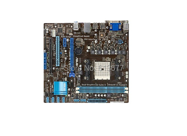 Free shipping 100% original motherboard for for asus F1A55-M LE FM1 DDR3 Motherboard Desktop Boards(China (Mainland))