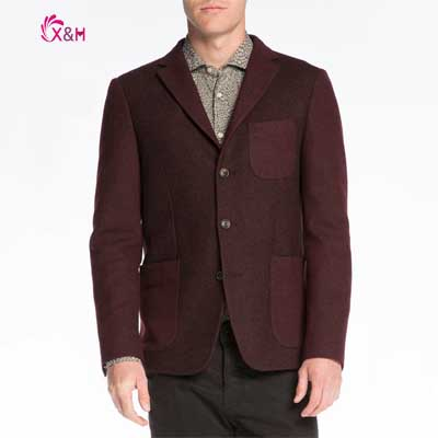 2014 New Winter&amp;Autuam Mens  High-quality Loose Casual Fashion Blazers Solid Color 50%Wool 50%Polyester SuitsОдежда и ак�е��уары<br><br><br>Aliexpress