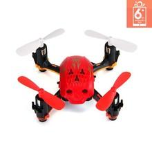 Global Drone GW008 2.4G Mini Skull Drone Mini 6-AXIS Remote Control Drone Quadcopter Small Quadcopter Black Quadcopter VS FQ777