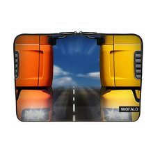 p Sleeve Case Bag Cover Neoprene for Macbook/Netbook/Laptop/ Notebook/ Ultrabook Two large trucks traveling side by side(China (Mainland))