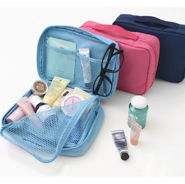 waterproof nylon Multifunctional storage cosmetic bags make up bag small travel storage bag <br><br>Aliexpress