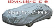 Universal Sedan Car covers XL 4.9*1.8*1.5M for Camry SONATA Hyundai Toyota Kia all car resist snow car cover waterproof(China (Mainland))