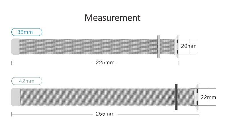 Ремешок для часов Apple Watch, 38/42 Apple Watch AWMLMCS