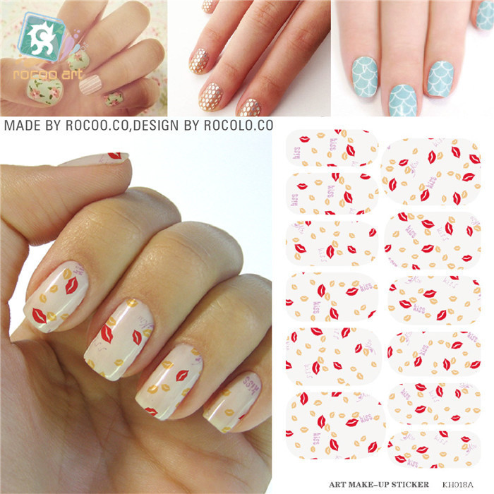 3D design nail sticker Full Cover Water Transfer adhesive foil nail stickers Decorations tools Products nail art water decals(China (Mainland))