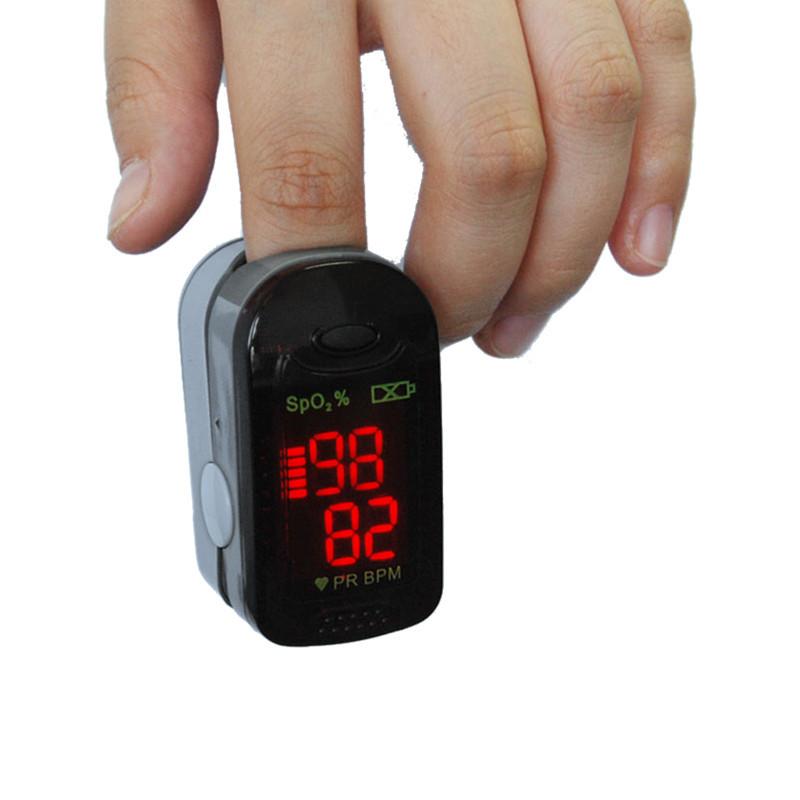 ChoiceMMed Black Blood Oxygen SpO2 PR Heart Rate Monitor Finger Tip Pulse Oximeter MD300C21<br><br>Aliexpress