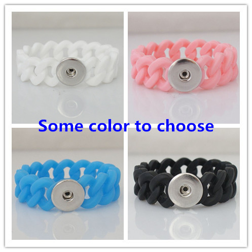 produto HOT sale Braided rope snaps bracelets button bracelet fit ginger snap button from www partnerbeads com KB9701