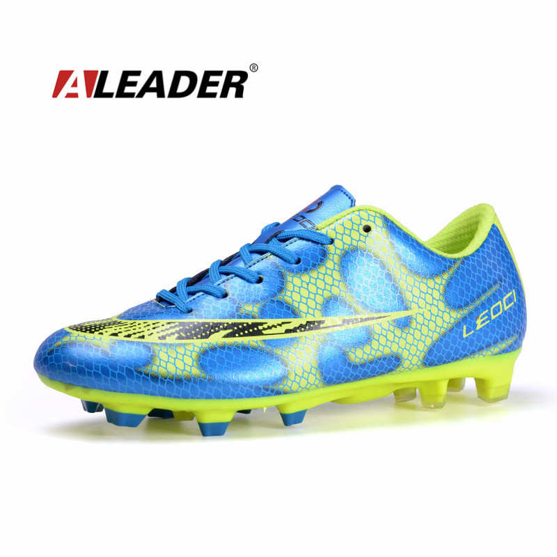 mens soccer cleats outdoor sport football shoes