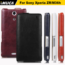 Buy iMUCA Sony Xperia ZR c 5502 C5502 cases cover Vertical Flip PU Leather Sony Xperia ZR M36h C5502 C5503 Shell Skin Cover bags for $5.96 in AliExpress store