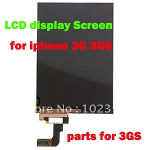 free shipping OEM LCD display Screen Repair parts For iphone 3G/3GS via EMS/DHL 5pcs/lot(China (Mainland))