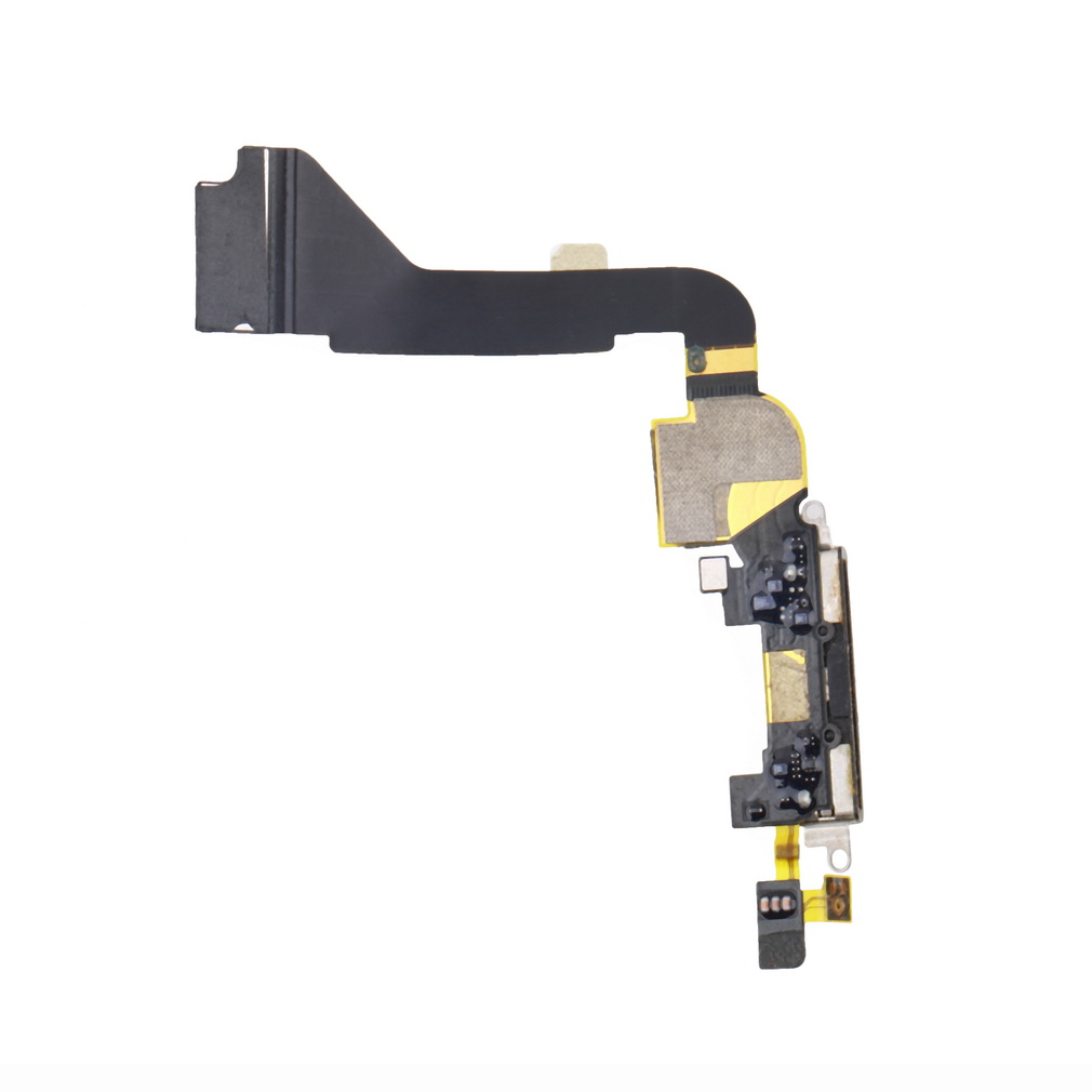 1pcs black Charger Charging Dock Port Connector for Apple for Iphone 4 4G 2425#(China (Mainland))