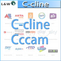 cccam cline for 1 year validity can experience a free trial for one day with 3rca line av line free shipping by china post