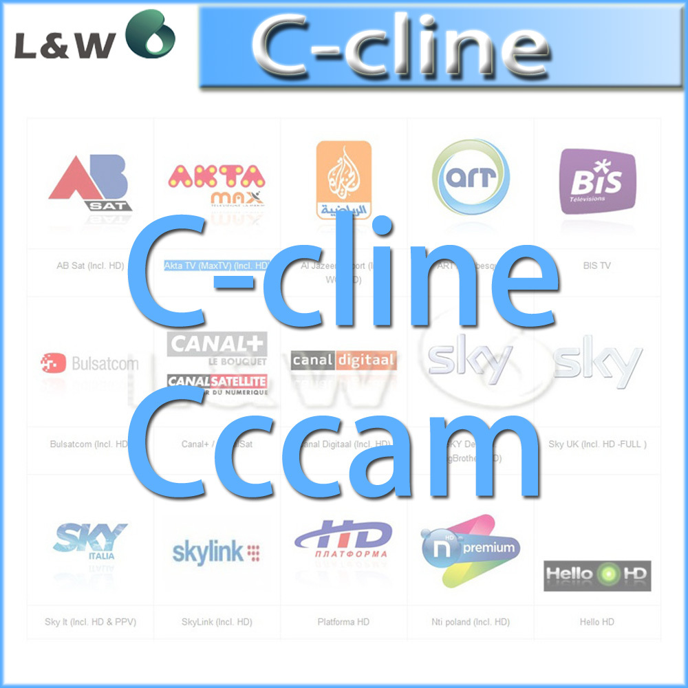 Гаджет  C-Cline CCCAM for 1 year validity can experience a free trial for one day 3rca line av line free shipping by china post None Бытовая электроника