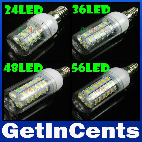 High Power E14 SMD 5730 LED Lamp 3W 9W 12W 15W 20W 25W 30W LED Corn Bulb 220V/110V Warm white/white LED Chandelier Candle Light(China (Mainland))