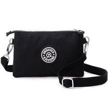 Nylon impermeabile borse crossbody delle donne di modo del raccoglitore casuale kippl stile frizione borsa carina femminile borse coin sacchetti di spalla(China (Mainland))