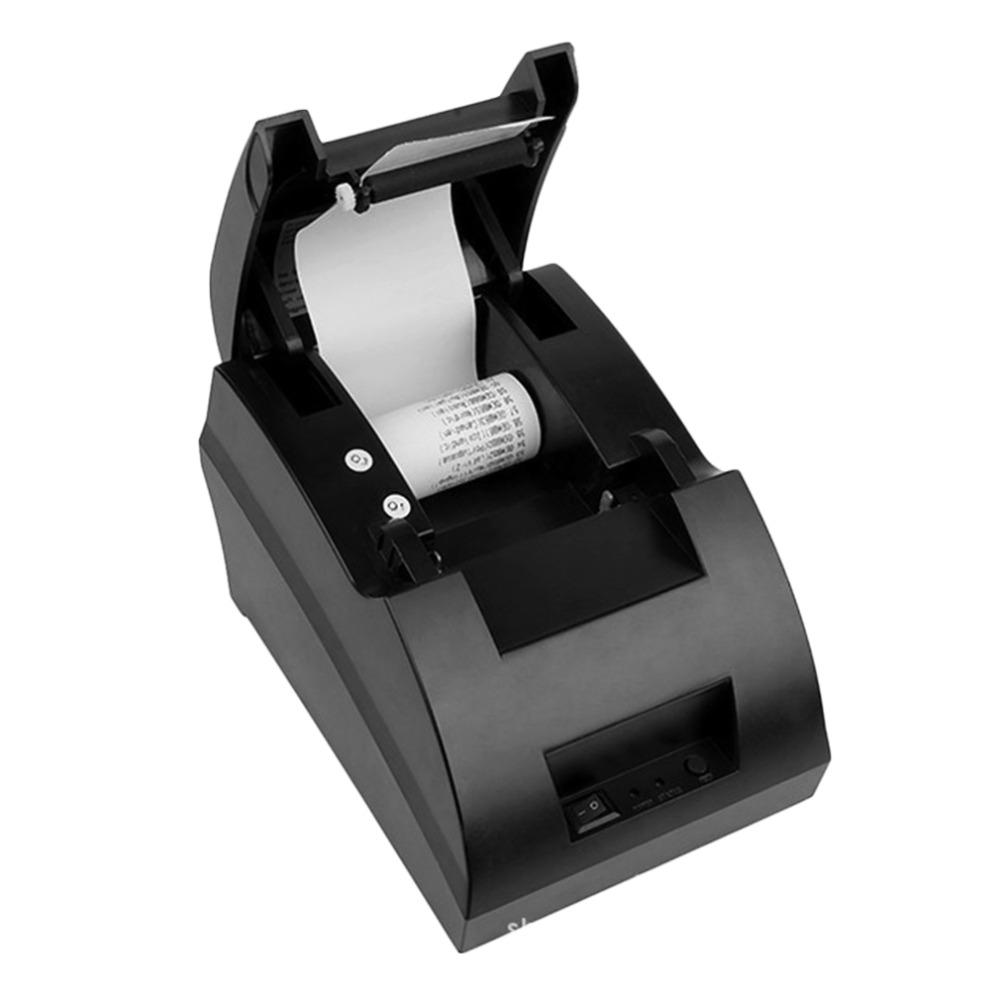NEW 58mm POS Thermal Dot Receipt Bill Printer USB Mini Set Roll Paper POS-5890C Free Shipping<br><br>Aliexpress