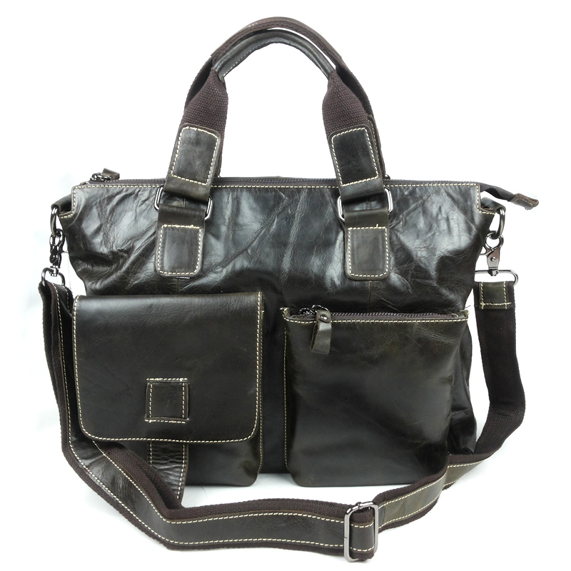 Фотография Free shipping 100% Genuine Leather Men
