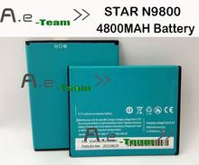Звезда N9800 аккумулятор 100 новый большой емкости 4800 мАч литий ионный аккумулятор для стар N9800 смартфон