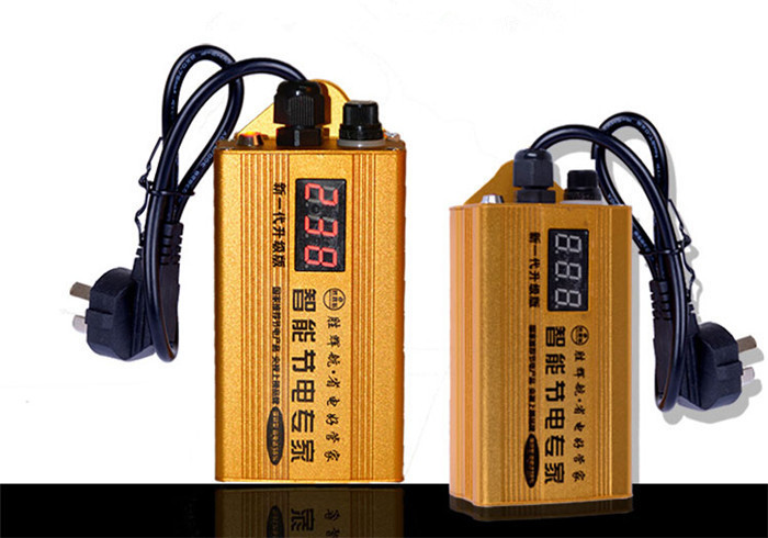 Electricity Saving Box LCD Display Device To Save Electricity 90V-250V 98KW 35% Electricity Energy Saving