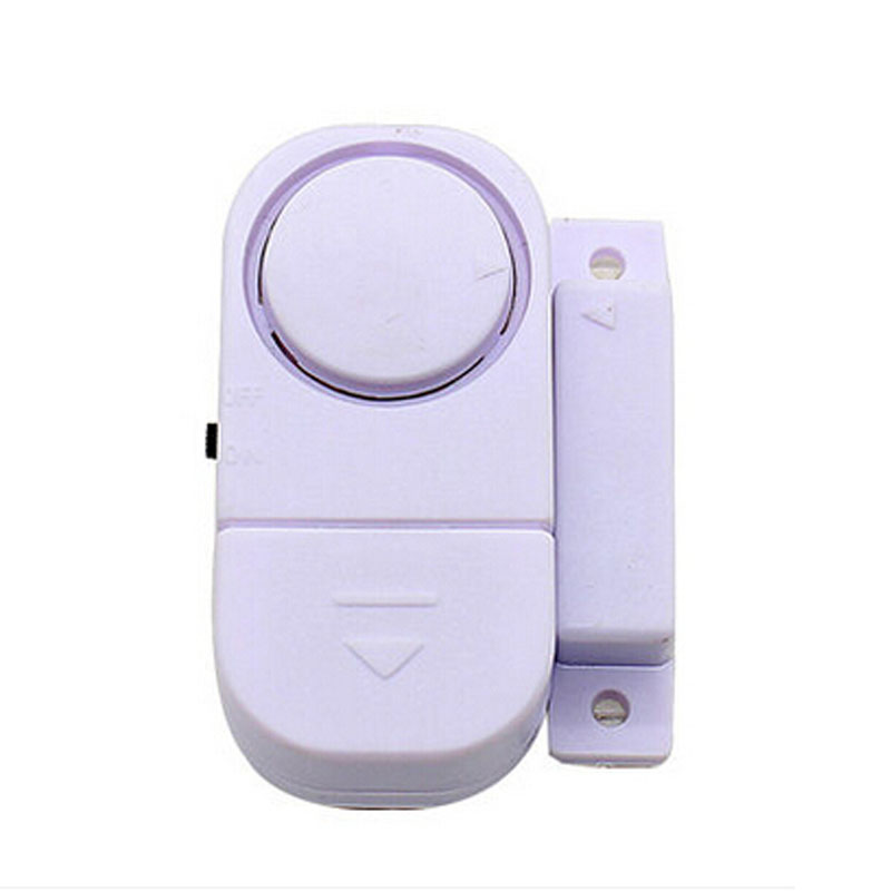 New White Wireless Home Door Window Entry Burglar Alarm Signal Safety Security Alarm Switch Guardian Protector Free Shipping(China (Mainland))