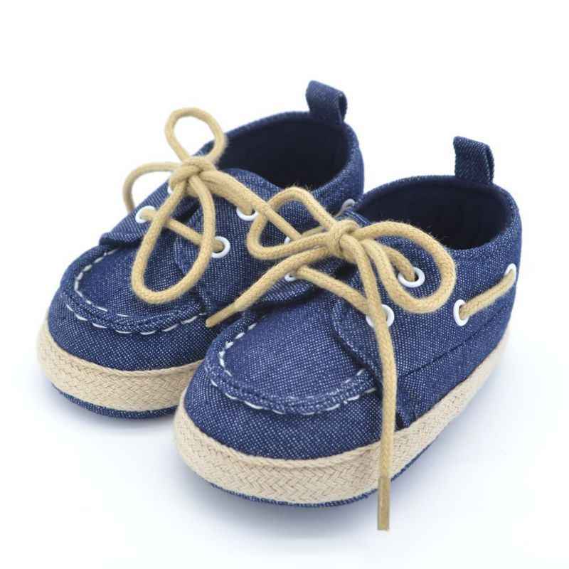 New Autumn Toddler First Walker Baby Shoes Boy Girl Soft Sole Crib Laces Sneaker Prewalker Sapatos