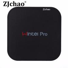 Wintel Pro CX-W8 TV Box Win10 Mini PC Z8300 4cores 2GB/32GB Bluetooth 4K*2K HDTV IPTV Smart TV W8 Pro STB Multimedia Player
