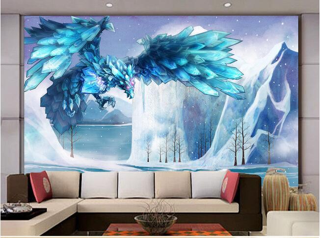 Frozen Slaapkamer Decoratie : Online kopen Wholesale eagle behang uit ...
