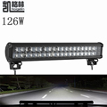2PCS lot 126W 4D LED Work Light Bar Spot Flood Combo Beam 12 24V for TRUCK