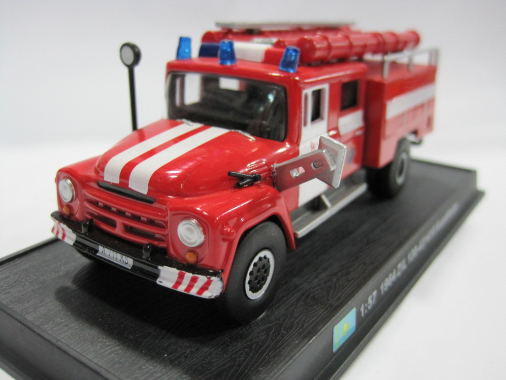 1:57 1964 ZiL 130-431410 Kazakhstan alloy Fire Truck Model Toy(China (Mainland))