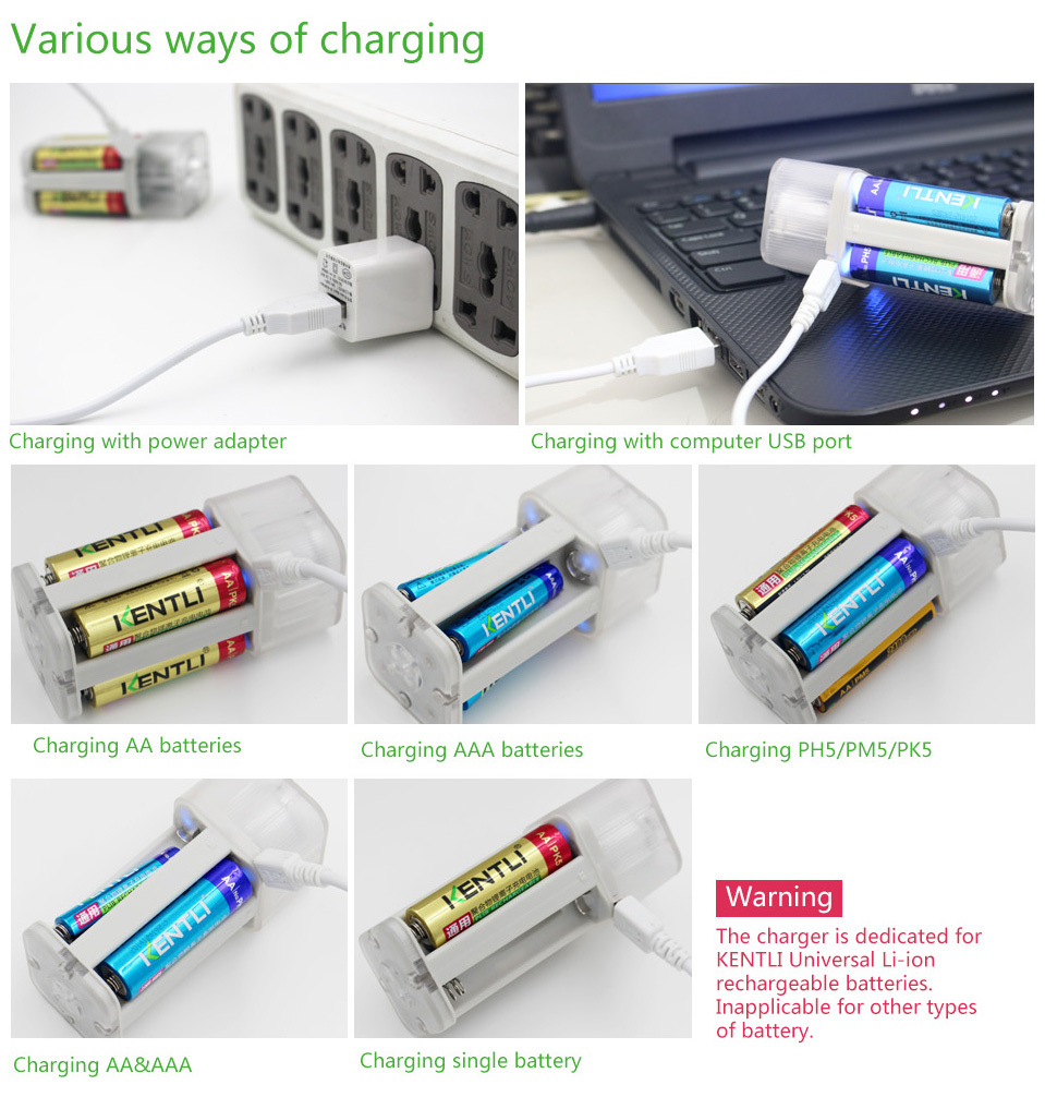 4pcs 1100mwh aaa rechargeable lithium battery charger w led flashlight. Black Bedroom Furniture Sets. Home Design Ideas