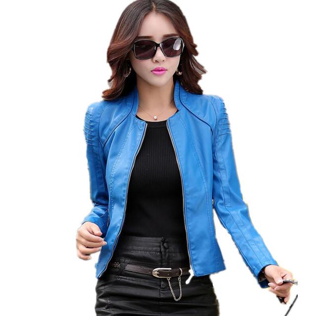 Women's short leather jackets – Modern fashion jacket photo blog
