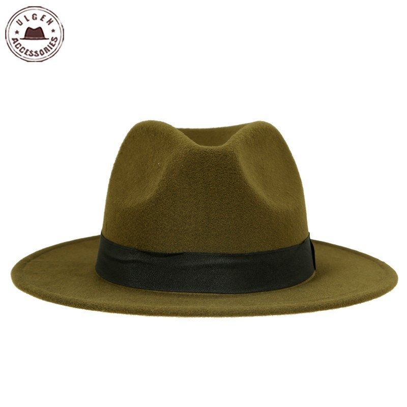 Detail Feedback Questions about Hot sale cheap unisex wool Jazz hats ... 016c529fc06