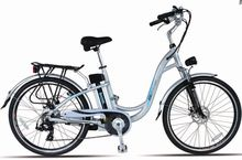 26 inch electric bicycle with 250w brushless hub motor