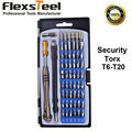 Flexsteel Top Quality 54 Bit Driver Kit 57 In 1 Precision Screwdriver Set with Security Torx