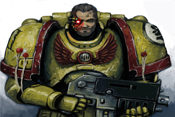 Free Shipping 40 000 Game Wallpapers Imperial Fists Custom Canvas Gaming Posters Warhammer 40k