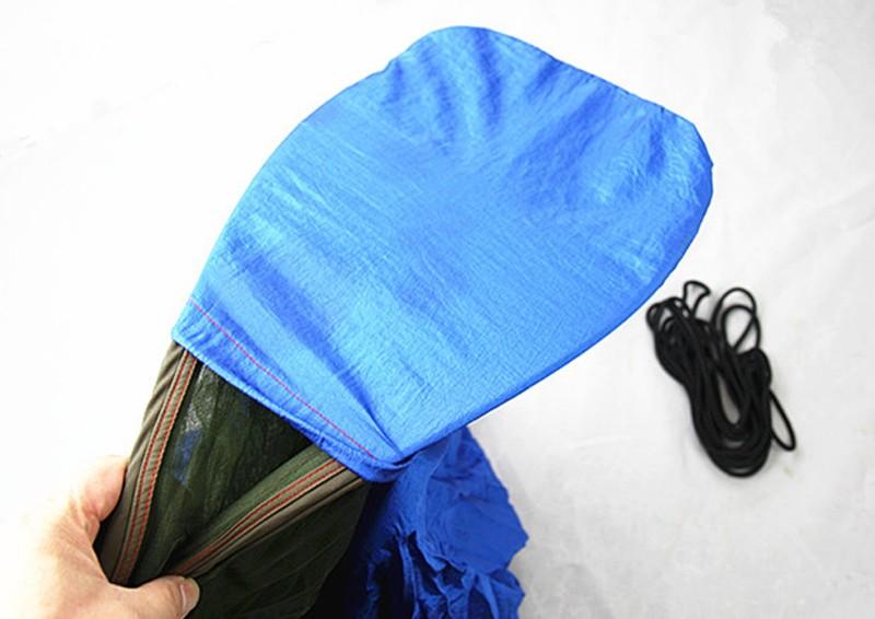 1 ADET Ultralight Çadır Kamp Asılı Açık Hamak Yatak Net Uyuyan Yatak 1 Kişi Kamuflaj 250*120 cm