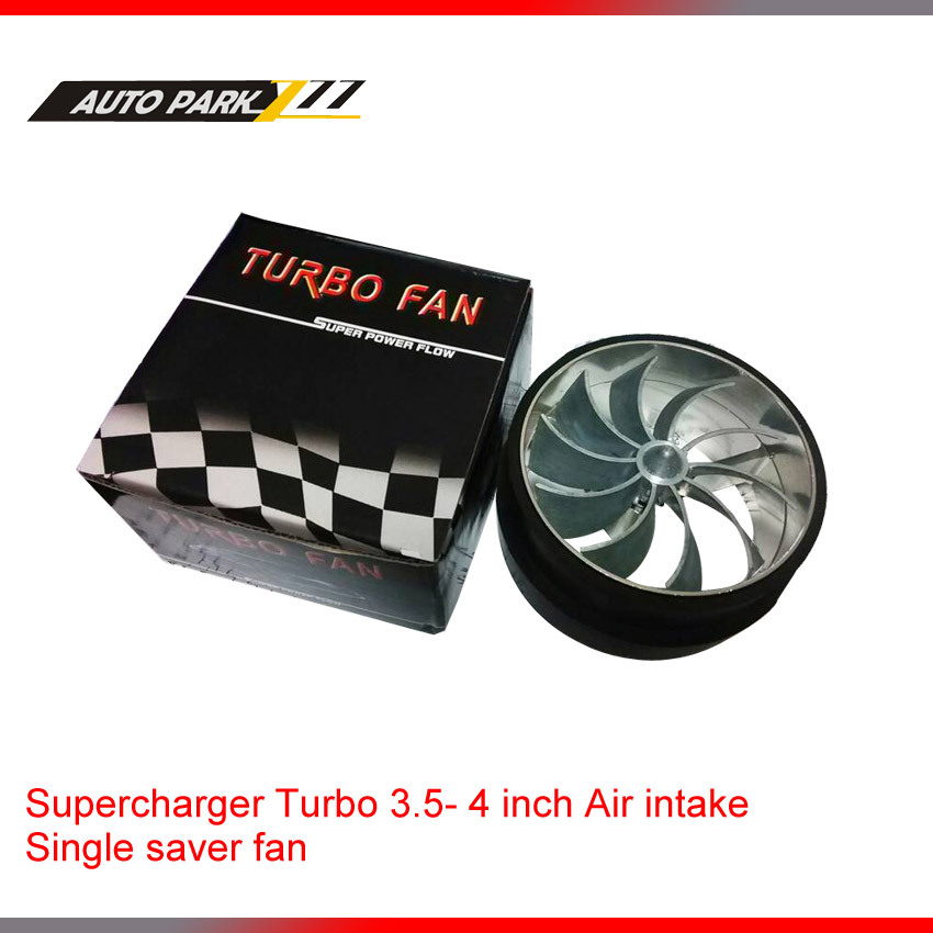 3.5 дюймов вентилятор нагнетателя турбо забора воздуха вкладчик топлива вентилятор один винт забора воздуха вентилятор