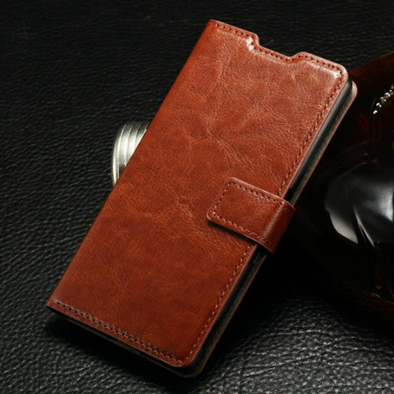 *Luxury Leather Flip Case For Sony Xperia Z4 Dual Magnetic Closure Pouch Wallet Cover for sony z4 dual and Card Holder IDOOLS(China (Mainland))