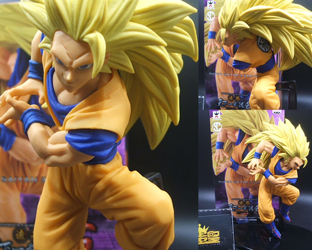Banpresto SCultures 6 Dragon Ball Z Super SaiYan 3 Goku Turtler Qigong PVC Action Figure Model Toy Bandai Figuras DBZ Ver.6(China (Mainland))
