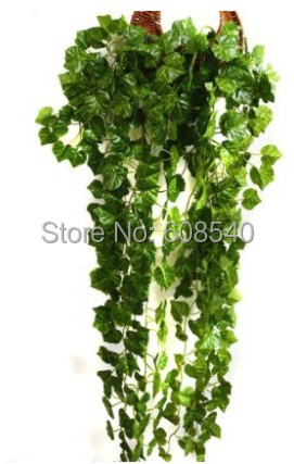 """ONE 35.5"""" (90cm) Artificial Hanging Plant Vine Leaves Garland Home Garden Decor AE01495(China (Mainland))"""