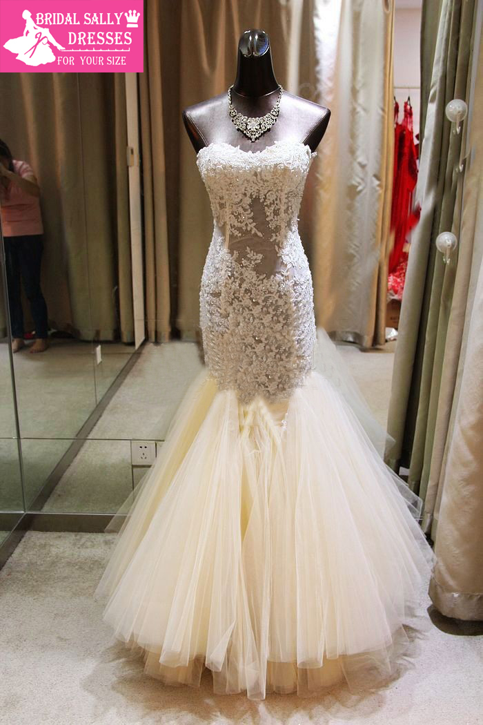 Wedding dresses bridal gowns organza vc 73 in wedding dresses from