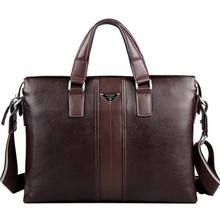 2016 Designer Genuine Leather bags, Big Brand Business Men Briefcases, Fashion Laptop Men's Travel Bags, Carteiras masculinas(China (Mainland))