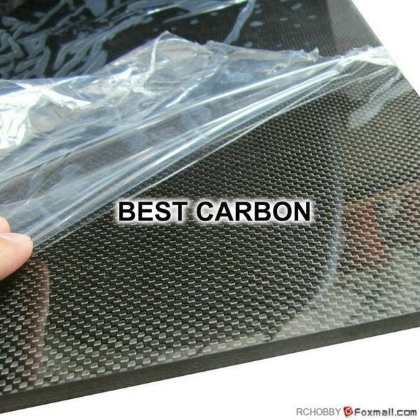 Free Shipping 3mm x 200mm x 300mm 100% Carbon Fiber Plate, rigid plate , car board , rc plane plate<br><br>Aliexpress