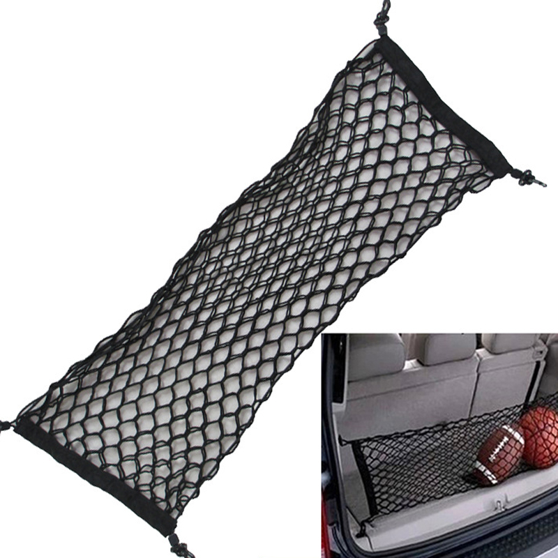 HOT New Car Nylon Elastic Mesh Net Car hatchback Rear Luggage Cargo Trunk Storage Organizer(China (Mainland))