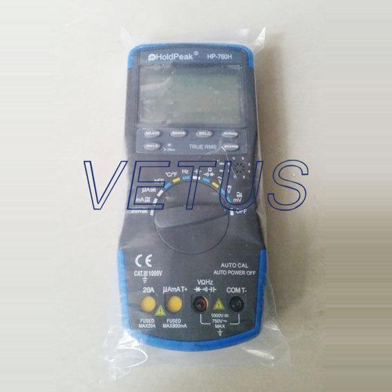 Фотография -20~1000C HP-760H HP760H Automatic range DMM digital multimeter